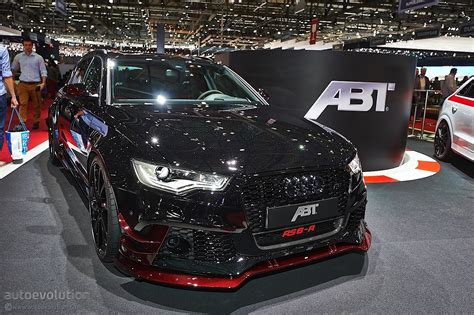 ABT Brings More Power in Geneva with New Audi RS6-R [Live