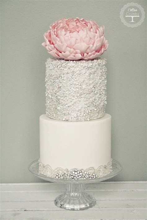 24 Fab Glittery And Sparkling Wedding Cake Ideas For 2016