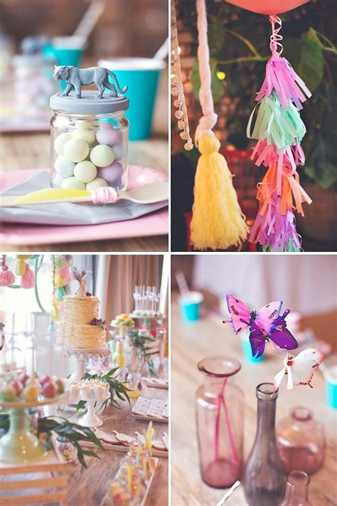 Gorgeous Boho Chic Birthday Party {Pastels & Feathers