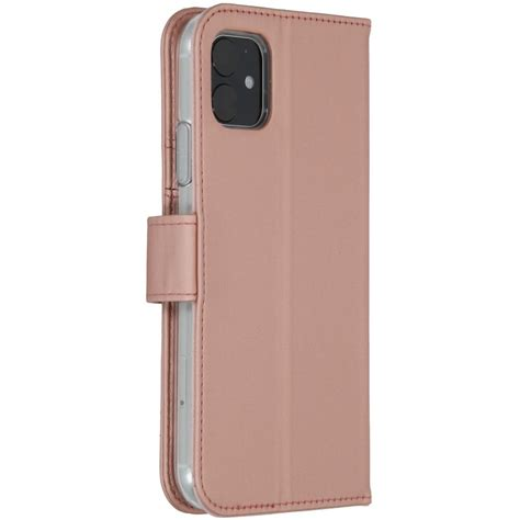 Accezz Booklet Wallet Rose Gold iPhone 11 | More Cases