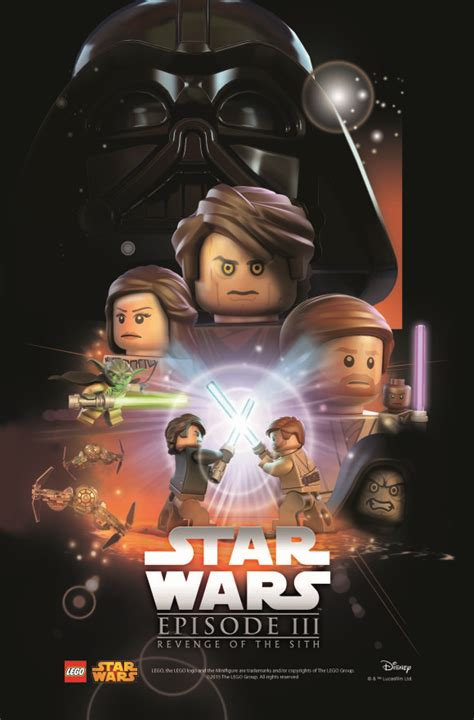 Star Wars LEGO Posters
