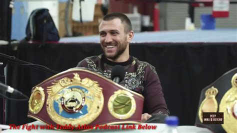 """Lomachenko """"I never stopped boxing to dance"""" to Teddy"""