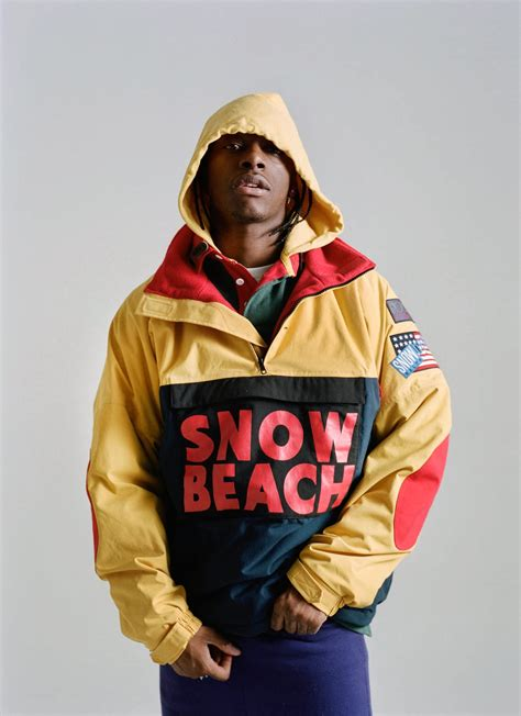 """Ralph Lauren's """"Snow Beach"""" Collection (Including That"""