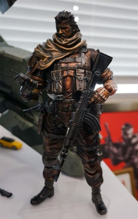 Snake's Metal Gear Solid 5: The Phantom Pain action figure