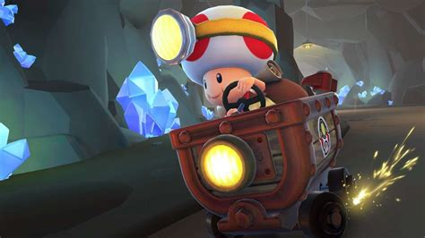 Captain Toad And Toadette Have Come To Mario Kart Tour