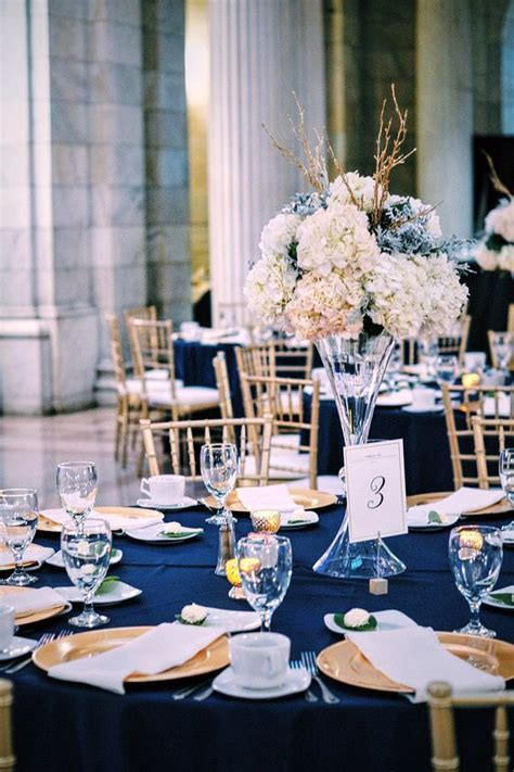 40 Navy Blue and Gold Wedding Ideas – Page 7 – Hi Miss Puff