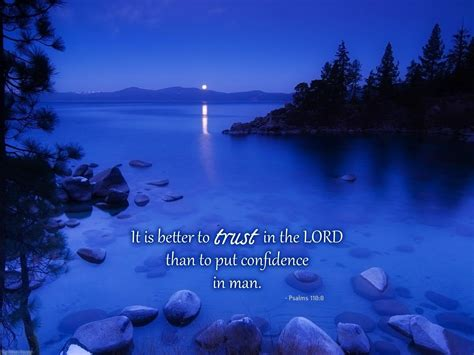 Blessed By The Lord: June 26, 2018 - TRUST THE LORD, NOT