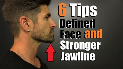 6 Tips For A MORE Defined Face, STRONGER Jawline & Redu