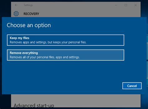 How to wipe all of your data from your Windows 10 PC   BT