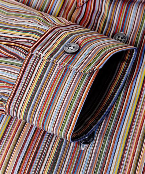 Paul Smith Tailored Fit Signature Striped Shirt for Men - Lyst