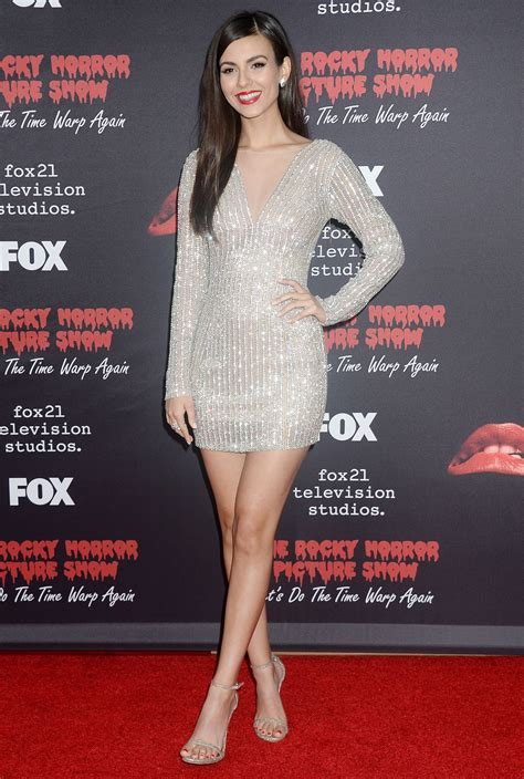VICTORIA JUSTICE at 'The Rocky Horror Picture Show; Let's