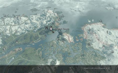 Map Markers Cities at Skyrim Nexus - mods and community