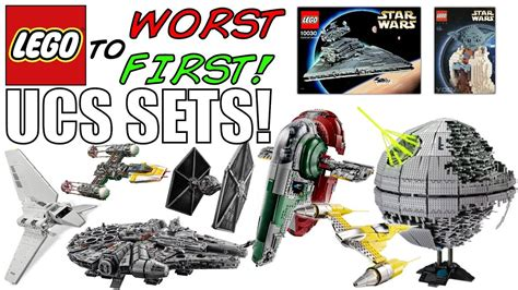 LEGO Worst To First | ALL LEGO Star Wars UCS SETS! - YouTube