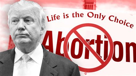 Trump Blows Off Pro-Life Leaders