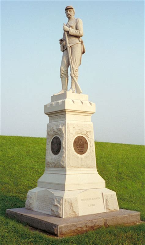 Monument to the 14th New York State Militia at Gettysburg