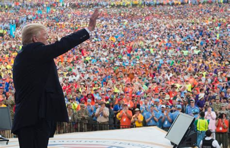 Donald Trump's speech to Boy Scouts was indeed ominous