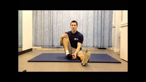 Flexibility Exercise - Perineal Stretch - YouTube