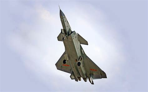 Is China's J-20 Stealth Fighter Training to Fight the U