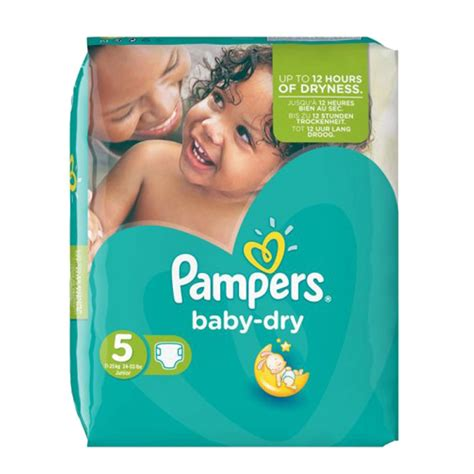 Pack 90 couches Pampers Baby Dry - couches pampers
