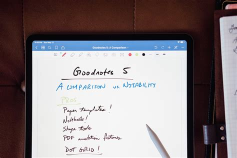 Goodnotes vs Notability: The Best Handwriting Notes Apps