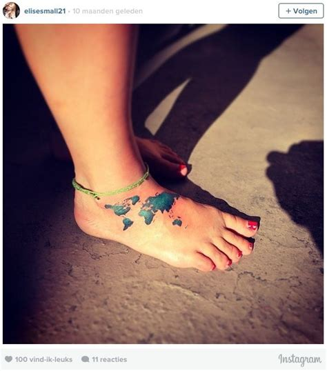 5 coole tatoeages voor travelers