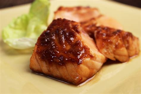 Broiled Salmon with Miso Glaze   Jacques Pepin – Heart and