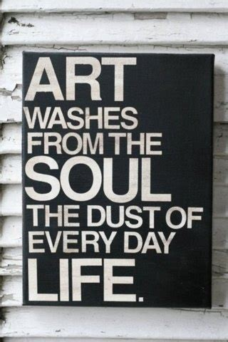Pin by Marlous on Word! Truth & Wisdom   Picasso quote