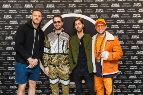 Imagine Dragons From left to right Dan Reynolds (lead