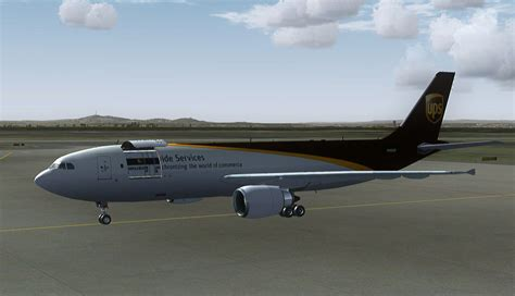 UPS Airbus A300-622F N155UP for FSX
