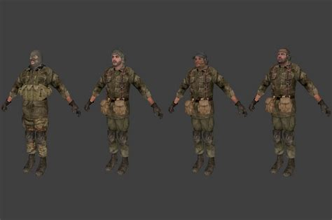COD4 Spetsnaz Force T pack addon - Counter-Strike: Source