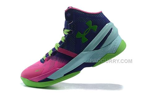 NBA 2015 Basketball Shoes Stephen Curry 2s Shoes Green