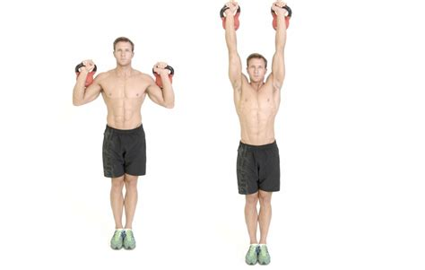 How to do the kettlebell military press - Men's Health