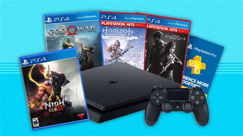 PS4 Deals: This PlayStation 4 Bundle Includes 4 Great