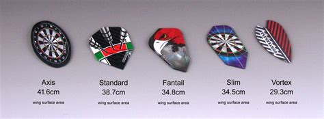 Hand Made Dart Flights, Custom Shapes And Surface Areas by