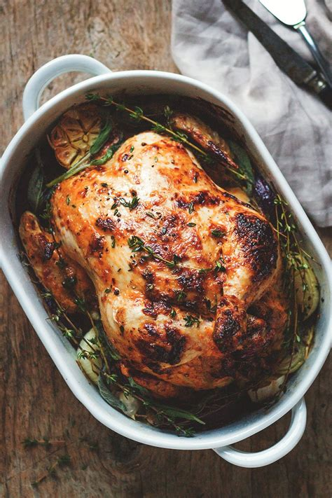 Mayonnaise Roasted Whole Chicken Recipe — Eatwell101