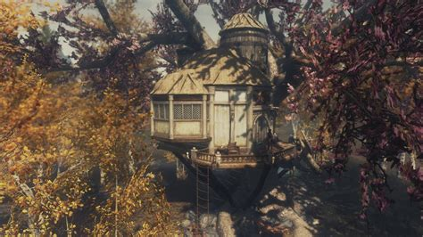 AWESOME TREEHOUSE FOR SKYRIM! INCLUDES QUEST! - YouTube