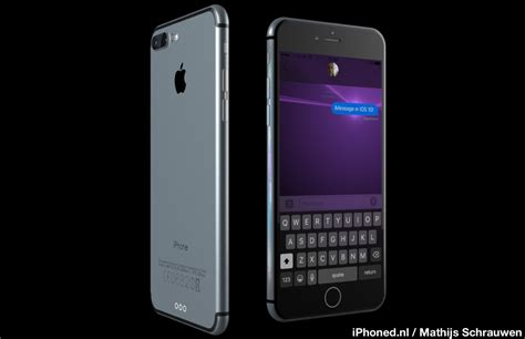 iPhone 7 Concept Running iOS 10 [Images] - iClarified