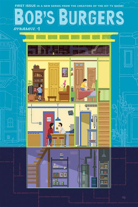 Dynamite® Bob's Burgers Ongoing #1