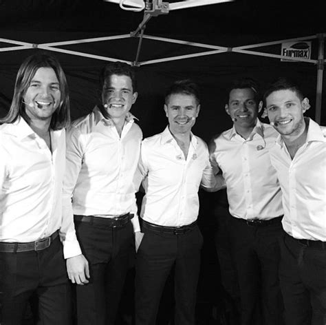 The fine looking lads of Celtic Thunder