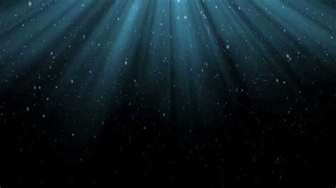 Blue Light Rays and Snow - HD Background Loop - YouTube