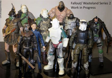Custom Toys and Action Figures: Update: Wasteland Series 2