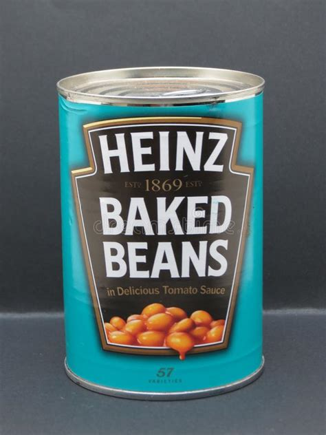 Tin of Baked Beans editorial image