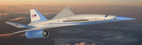 Will This Supersonic Jet Be the Next Air Force One?   Dr