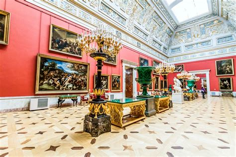 State Rooms of the Hermitage Museum, St