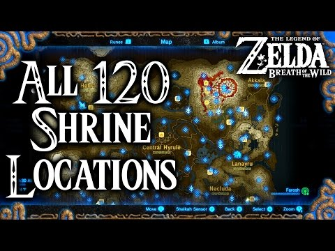 Great Fairy Fountain Locations - Breath of the Wild