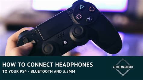 Using Headphones With PS4 - 3