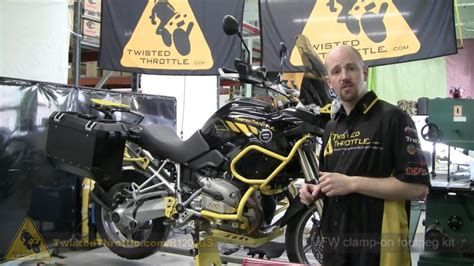 BMW R1200GS with Adventure Touring accessories
