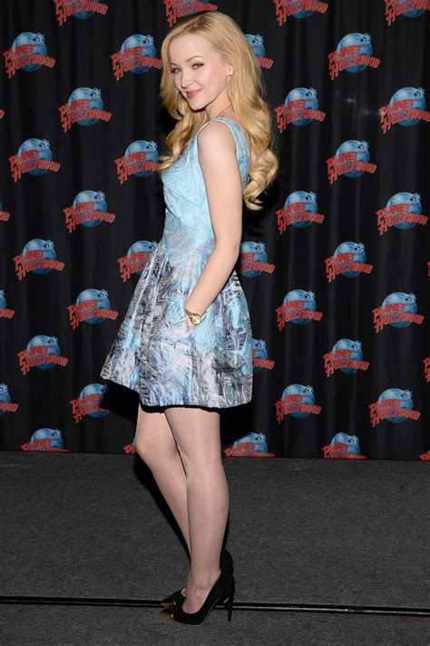 Dove Cameron at Planet Hollywood in Times Square - Eve of