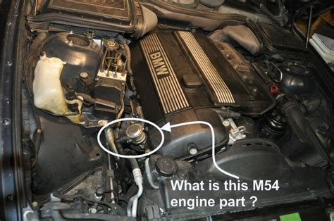 What is this engine part? (Getting to know my M54 engine