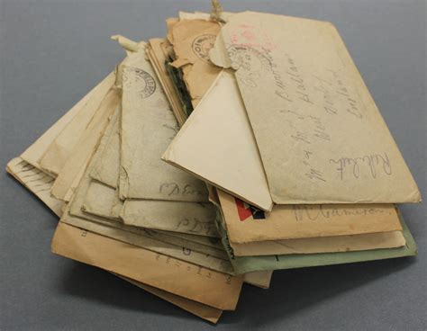 First World War Letters   Derbyshire Record Office